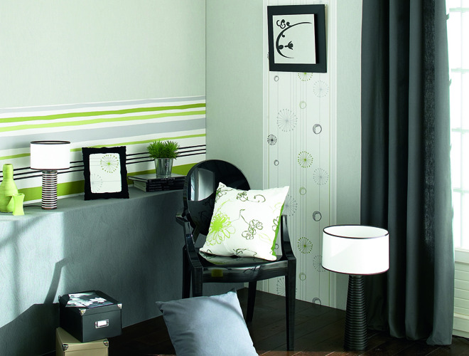 quel papier peint pour quelle pi ce trouver des id es. Black Bedroom Furniture Sets. Home Design Ideas