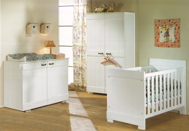 Chambre bebe fille beige for Chambre bebe beige