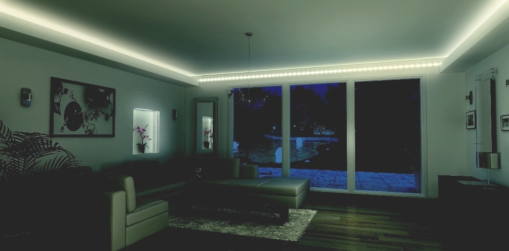 luminaire led plafond eclairage moderne accueil design et mobilier. Black Bedroom Furniture Sets. Home Design Ideas