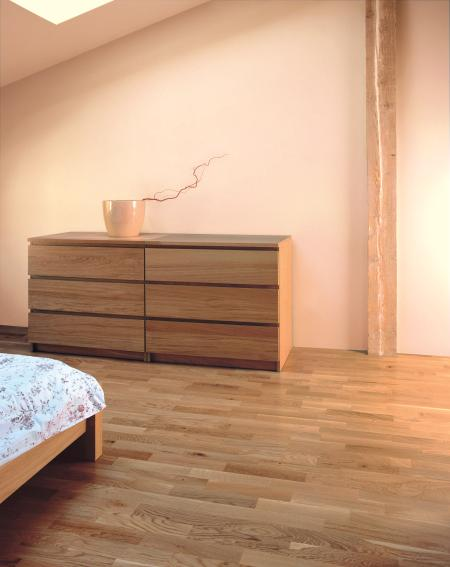 d co chambre parquet clair. Black Bedroom Furniture Sets. Home Design Ideas