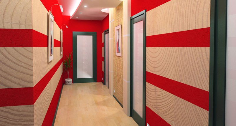 Idee Deco Long Couloir