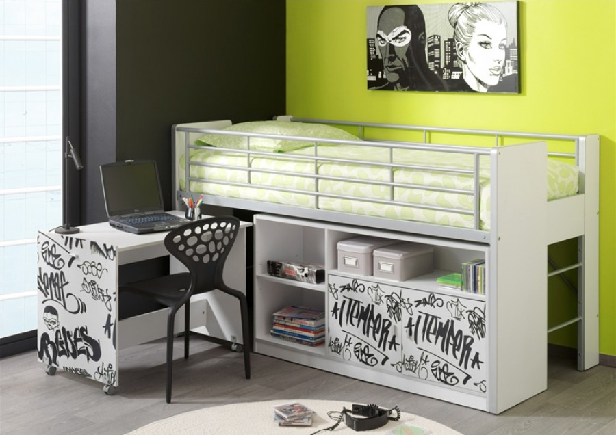 chambre enfant vert cv04 jornalagora. Black Bedroom Furniture Sets. Home Design Ideas