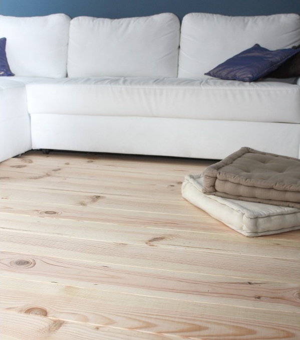 Parquet massif en pin for Parquet massif a clouer